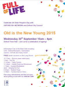 Older People's Day 2015